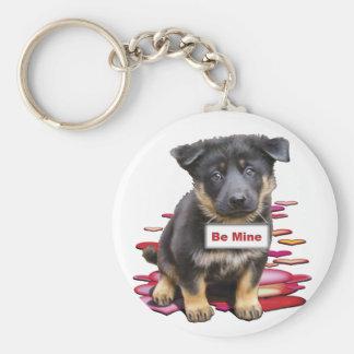 German Shepherd, Babe Keychain