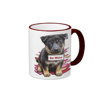 German Shepherd, Babe Ringer Mug