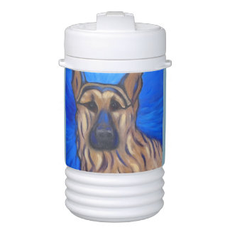 German Shepherd Beverage Cooler