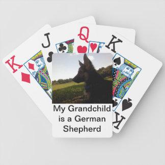 German Shepherd Bicycle Cards Bicycle Playing Cards