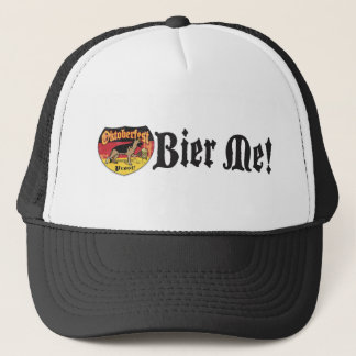 German Shepherd Bier Hound Trucker Hat