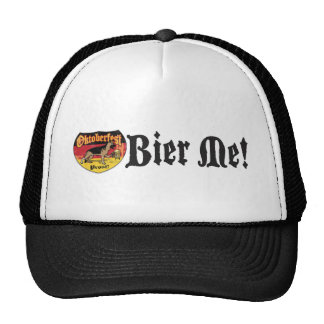 German Shepherd Bier Hound Trucker Hat