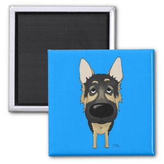 German Shepherd - Big Nose and Butt Magnet