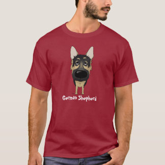 German Shepherd - Big Nose and Butt T-Shirt