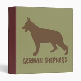 German Shepherd Binder