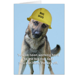 German Shepherd Birthday Card by Focus for a Cause