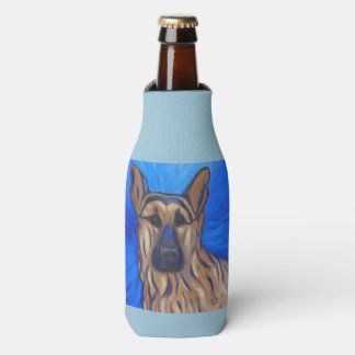 German Shepherd Bottle Cooler