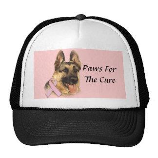 German Shepherd Breast Cancer Hat