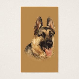 German Shepherd Breeder Business Card