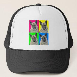 German Shepherd Bright Primary Collage Trucker Hat
