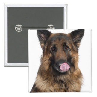 German Shepherd Button