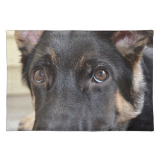 German Shepherd by Shirley Taylor Cloth Placemat
