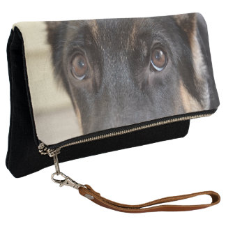 German Shepherd by Shirley Taylor Clutch