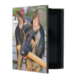 Powis iCase iPad Case with Kickstand with German Shepherd Phone Cases design