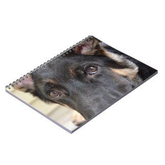 German Shepherd by Shirley Taylor Spiral Notebook