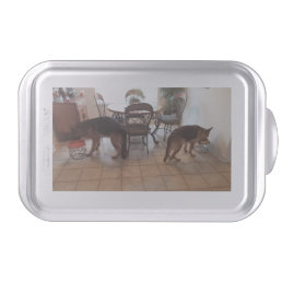 German Shepherd Cake Tin Cake Pan