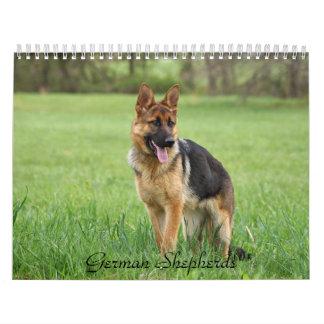 German Shepherd Calendar 2016