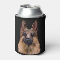 German Shepherd Can Cooler