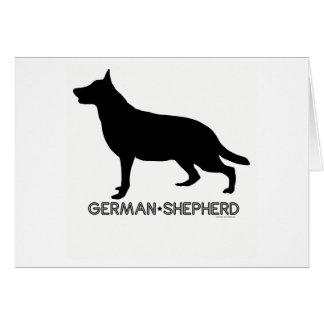 German Shepherd Card