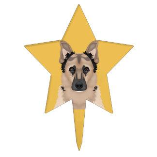 German Shepherd Dog Cake Toppers | Zazzle
