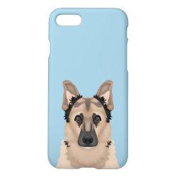 iPhone 7 Case with German Shepherd Phone Cases design