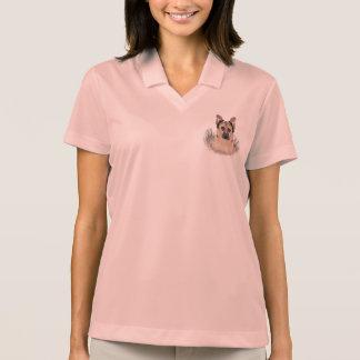 German Shepherd Cartoon Polo Shirt