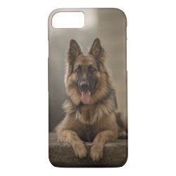german shepherd. iPhone 8/7 case