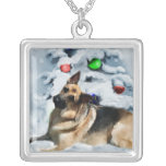 German Shepherd Christmas Gifts Custom Jewelry