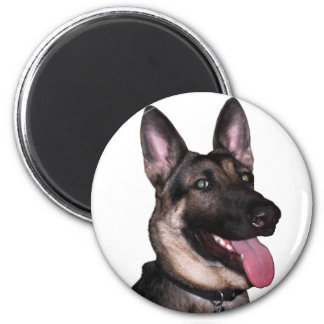 German Shepherd Collection 2 Inch Round Magnet