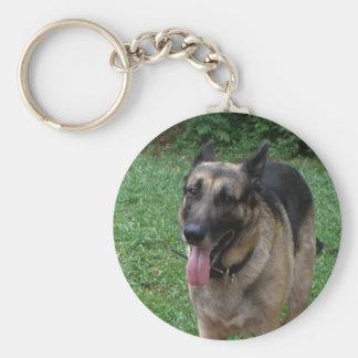 German Shepherd Collection Keychain