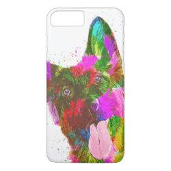 Case-Mate Tough iPhone 7 Plus Case with German Shepherd Phone Cases design