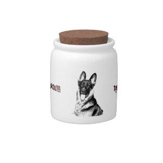 German Shepherd Cookie Jar