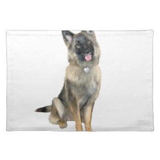 German Shepherd (D) Cloth Placemat