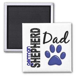 German Shepherd Dad 2 Magnet