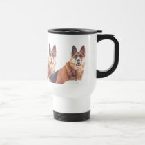 German Shepherd Dad Commuter Coffee Mug