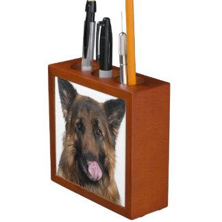German Shepherd Desk Organizer