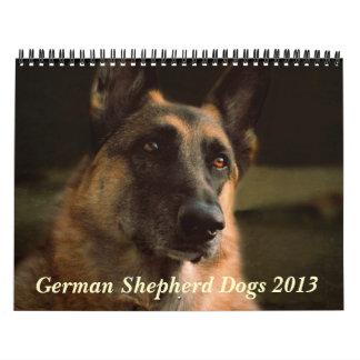 German Shepherd Dog 2013 Calendar