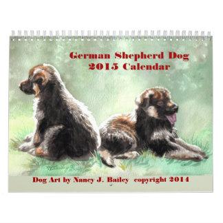 German Shepherd Dog 2015 Calendar
