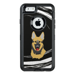OtterBox Symmetry iPhone 6/6s Case with German Shepherd Phone Cases design