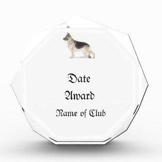 German Shepherd Dog Acrylic Award