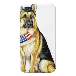 German Shepherd Dog Art IPhone Case iPhone 4/4S Case
