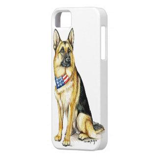 German Shepherd Dog Art Iphone Case iPhone 5 Covers