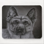 German Shepherd Dog Art - Noble Mousepad