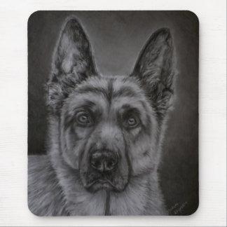 German Shepherd Dog Art - Noble Mousepad