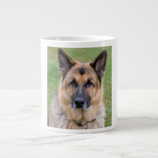 German Shepherd dog beautiful photo jumbo mug 20 Oz Large Ceramic Coffee Mug