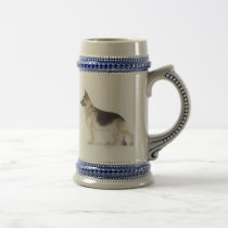 German Shepherd Dog Beer Stein