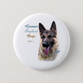 German Shepherd Dog Best Friend 2 - Button