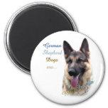 German Shepherd Dog Best Friend 2 - Magnet