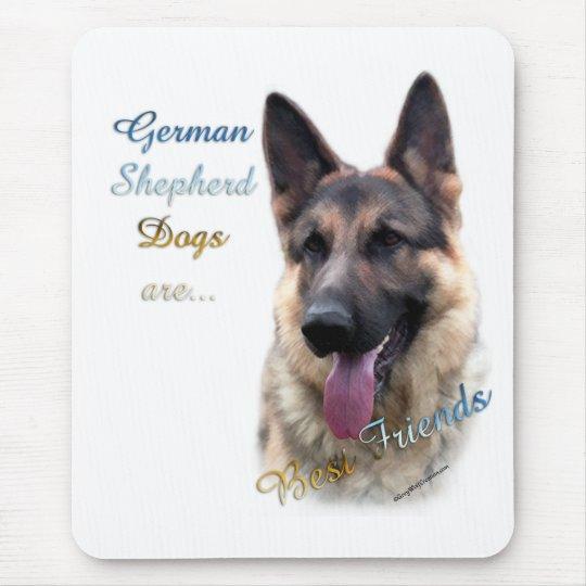 German Shepherd Dog Best Friend 2 Mouse Pad