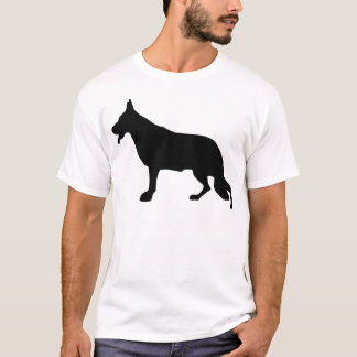 German Shepherd Dog black T-Shirt